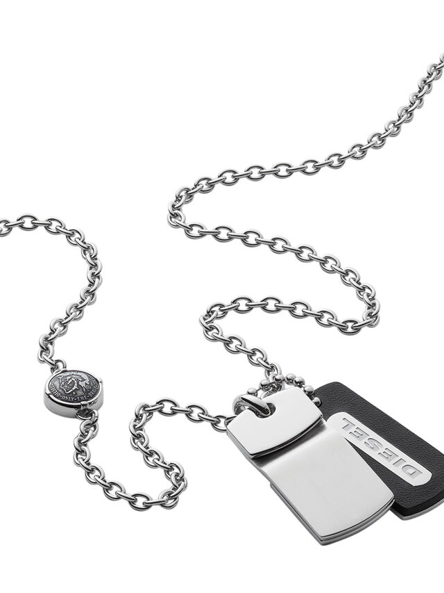 NECKLACE DX0973, Silver