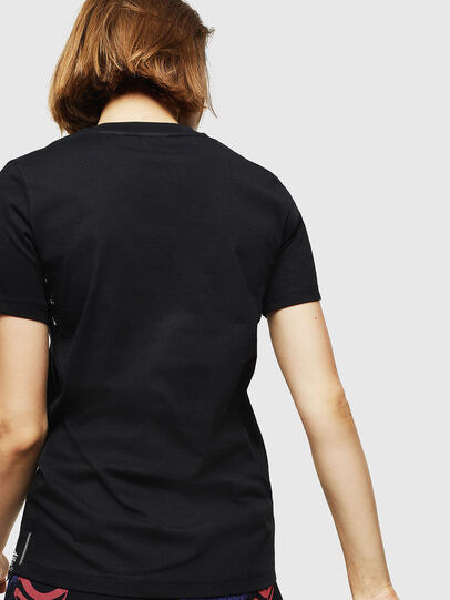 Diesel - T-SILY-WMA, Black - T-Shirts - Image 2