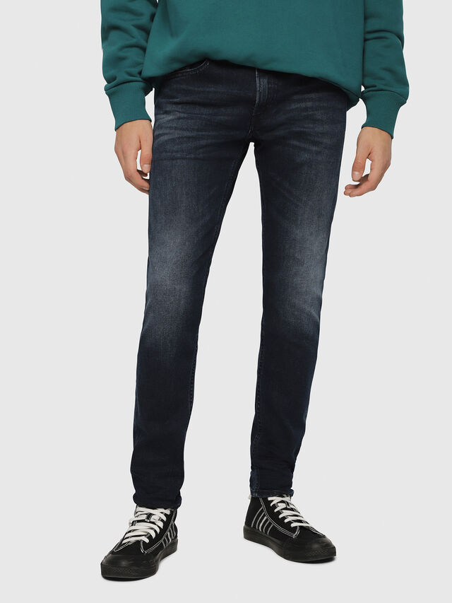 Diesel - Thommer 087AS, Dark Blue - Jeans - Image 1