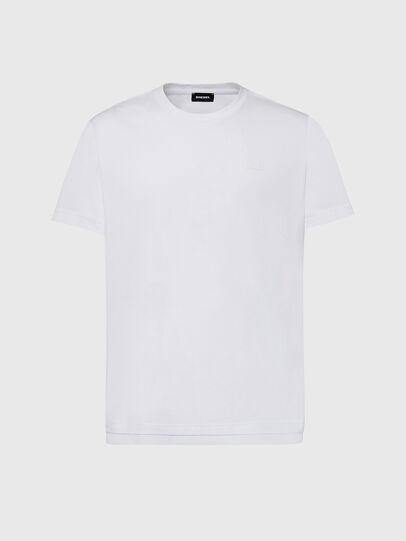 Diesel - T-DIAMANTIK-NEW2, White - T-Shirts - Image 1