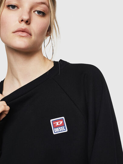 Diesel - F-HENNY-E, Black - Sweaters - Image 3
