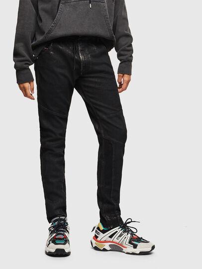 Diesel - D-Luhic JoggJeans 0092W, Black/Dark grey - Jeans - Image 1