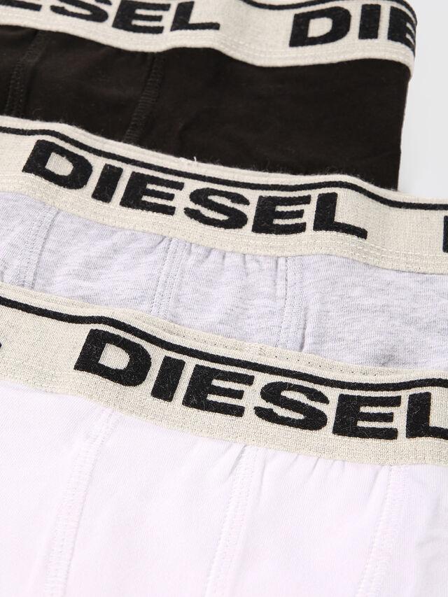 Diesel - UGOV THREE-PACK US, White/Black - Underwear - Image 4