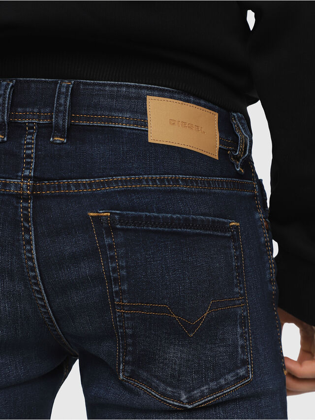 Diesel - Sleenker 084RI, Dark Blue - Jeans - Image 3