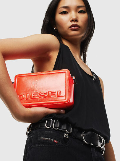 Diesel - ROSA', Orange - Crossbody Bags - Image 6