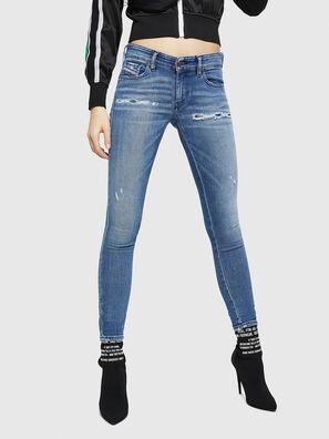 Slandy Low 083AP, Medium blue - Jeans