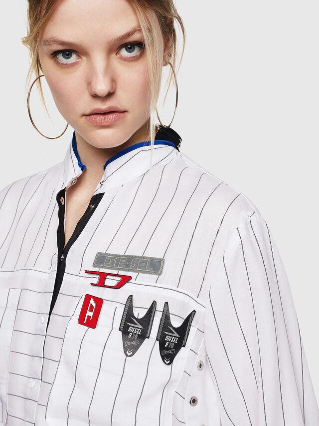 Diesel - C-SUPER-D, White - Shirts - Image 3