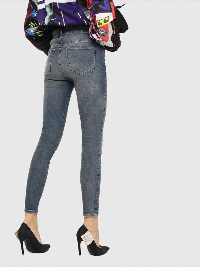 Diesel - Slandy High 085AZ, Medium blue - Jeans - Image 2