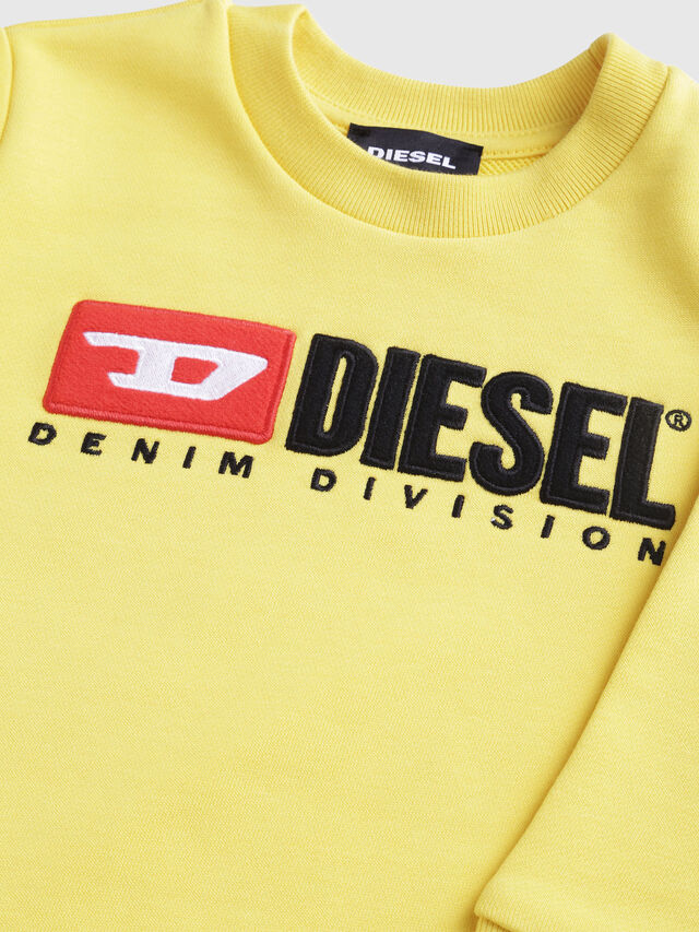 Diesel - SCREWDIVISIONB-R, Yellow - Sweaters - Image 3