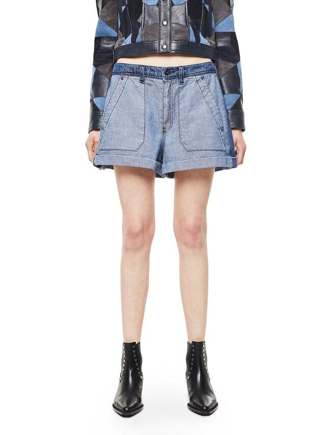 Diesel - SHANTELLE, Blue Jeans - Shorts - Image 1