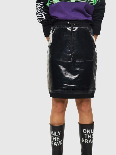 Diesel - O-NYUSHA-A, Black - Skirts - Image 1