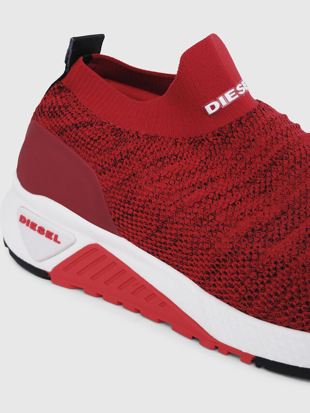 Diesel - S-KB ATHL SOCK, Red - Sneakers - Image 4