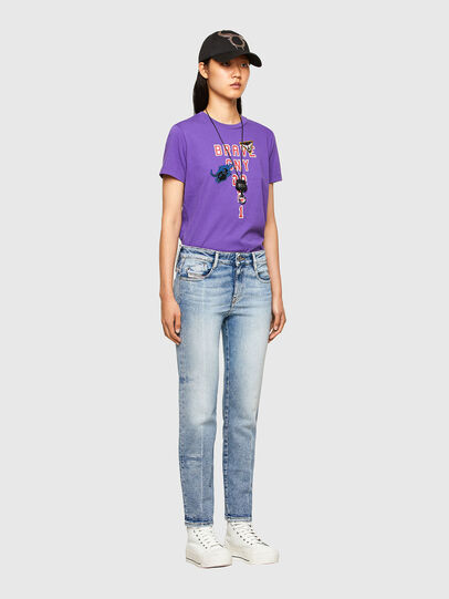 Diesel - CL-T-SILY-O, Violet - T-Shirts - Image 5
