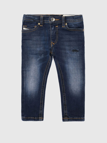 Diesel - SLEENKER-B-N, Medium blue - Jeans - Image 1