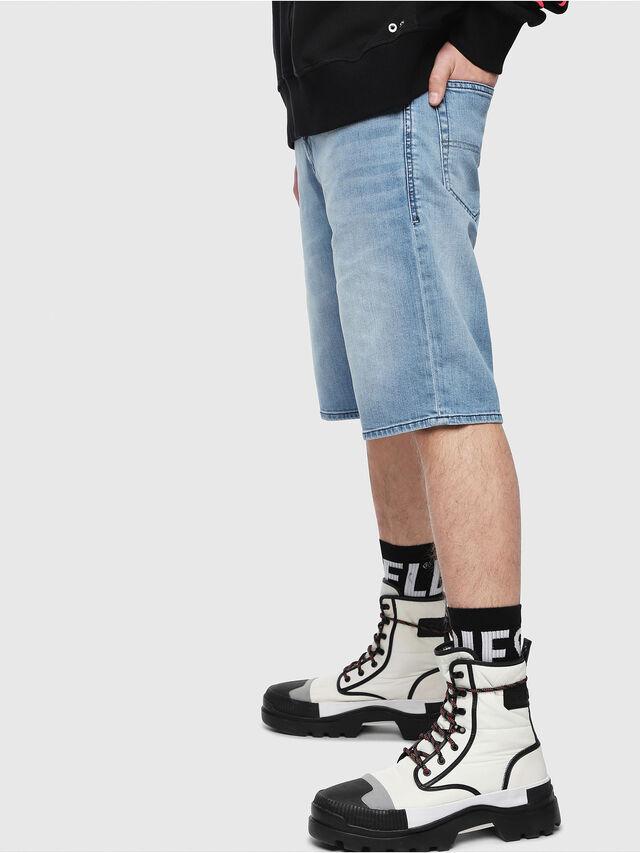 Diesel THOSHORT, Light Blue - Shorts - Image 3