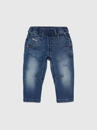 Diesel - FAYZA B JOGGJEANS-N, Medium blue - Jeans - Image 1