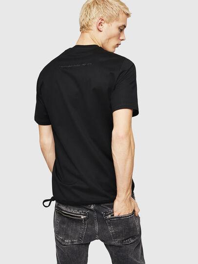 Diesel - T-ALEKSEY, Black - T-Shirts - Image 2