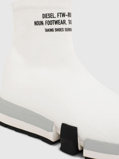 Diesel - H-PADOLA HIGH SOCK, White - Sneakers - Image 5