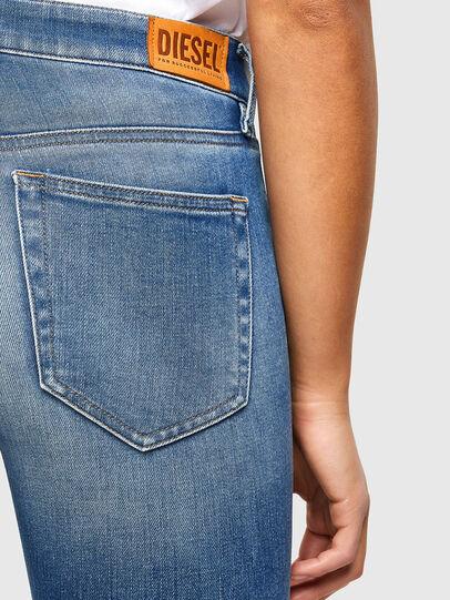 Diesel - Slandy 009QS, Light Blue - Jeans - Image 4