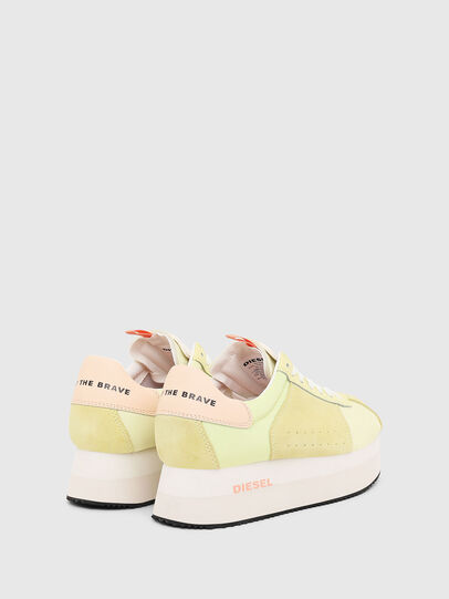 Diesel - S-PYAVE WEDGE, Yellow - Sneakers - Image 3