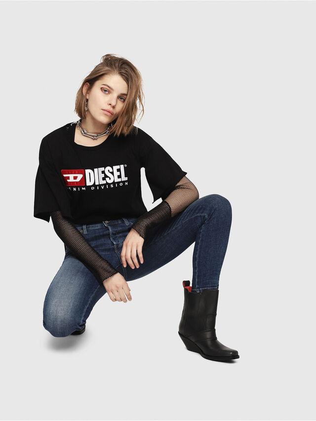 Diesel - Babhila 081AI, Dark Blue - Jeans - Image 4