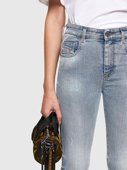 Diesel - Slandy High 009TG, Light Blue - Jeans - Image 3