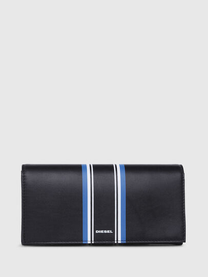 Diesel - 24 A DAY, Dark Blue - Continental Wallets - Image 1