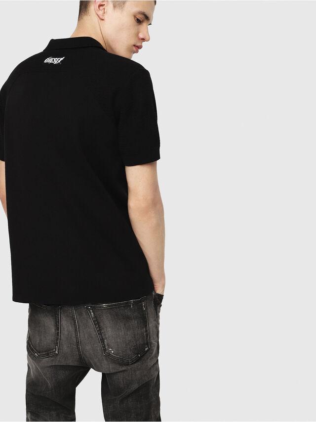 Diesel - K-MYX, Black - Knitwear - Image 2