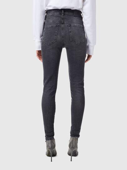Diesel - Slandy High 069XP, Black/Dark grey - Jeans - Image 2
