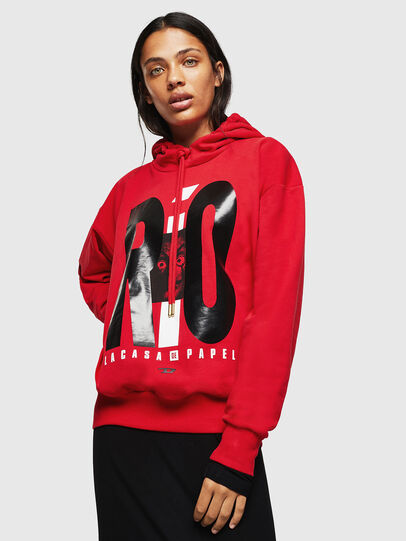 Diesel - LCP-S-ALBY-RIO, Red - Sweaters - Image 2