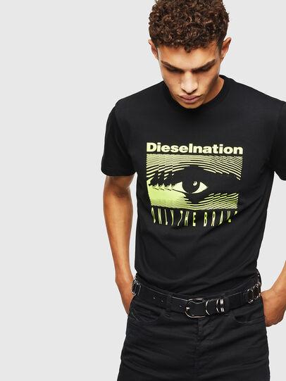 Diesel - T-DIEGO-J4, Black - T-Shirts - Image 6