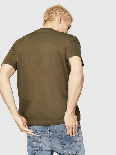 Diesel - T-JUST-DIVISION-D, Military Green - T-Shirts - Image 2
