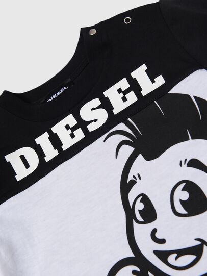 Diesel - TILLYB, Black/White - T-shirts and Tops - Image 3
