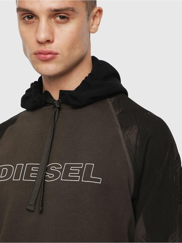 Diesel - UMLT-BRIAN, Military Green - Sweaters - Image 3