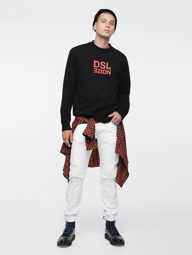 Diesel Buster 0680K, White - Jeans - Image 4