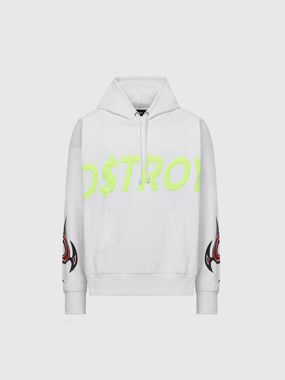 Diesel - S-ALBY-X6, White - Sweaters - Image 1
