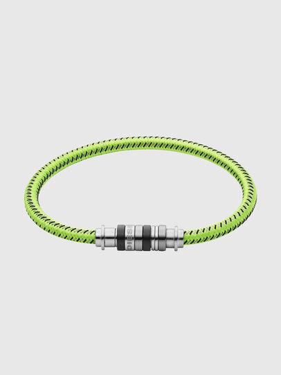 Diesel - DX1182, Yellow Fluo - Bracelets - Image 1