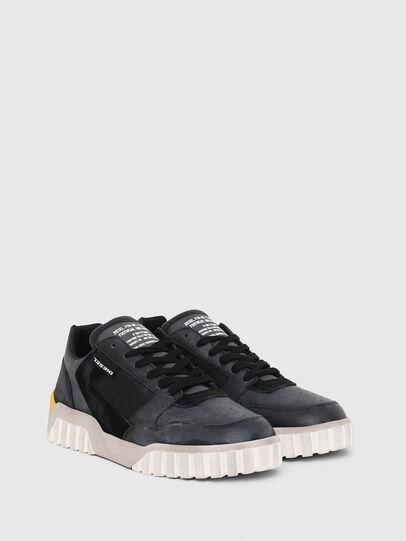 Diesel - S-RUA LOW90, Blue/Black - Sneakers - Image 2