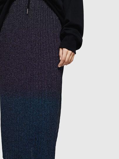 Diesel - M-ELY, Dark Blue - Skirts - Image 4
