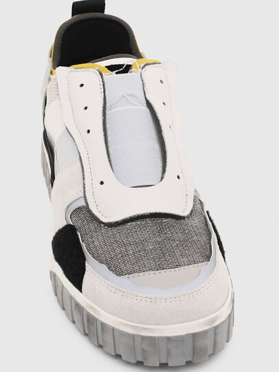 Diesel - S-RUA LOW DEC, White - Sneakers - Image 6