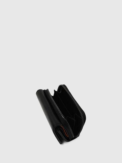 Diesel - SPEJAP, Black/Orange - Small Wallets - Image 5