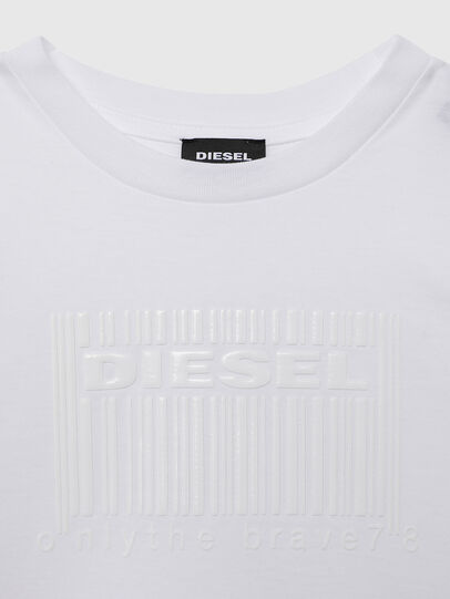 Diesel - TUDERCODE OVER, White - T-shirts and Tops - Image 3