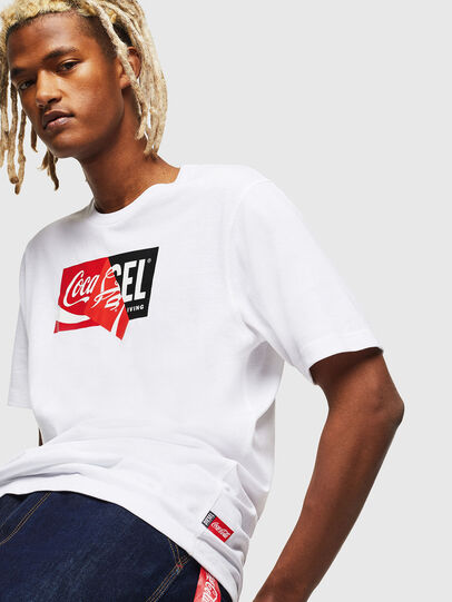 Diesel - CC-T-JUST-COLA,  - T-Shirts - Image 3