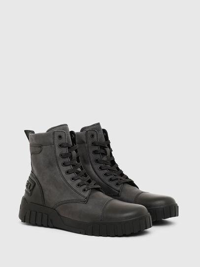 Diesel - H-RUA AM, Black - Sneakers - Image 2