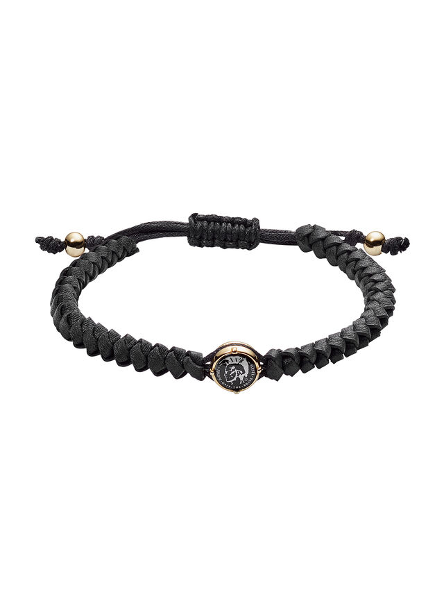 Diesel - BRACELET DX1057, Black - Bracelets - Image 1