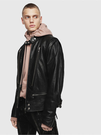 Diesel - L-KOJI,  - Leather jackets - Image 1