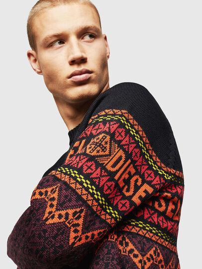 Diesel - K-CV-ALLJAC, Multicolor/Black - Knitwear - Image 6