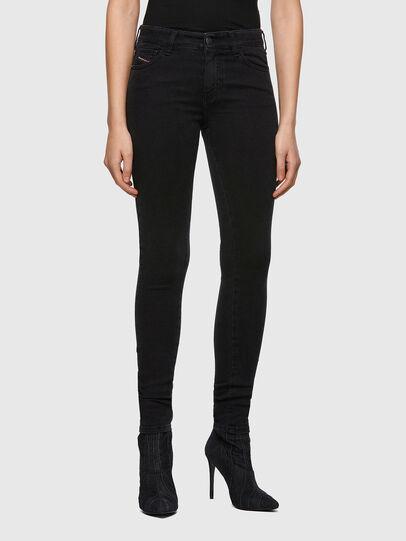 Diesel - Slandy 069VW, Black/Dark grey - Jeans - Image 1