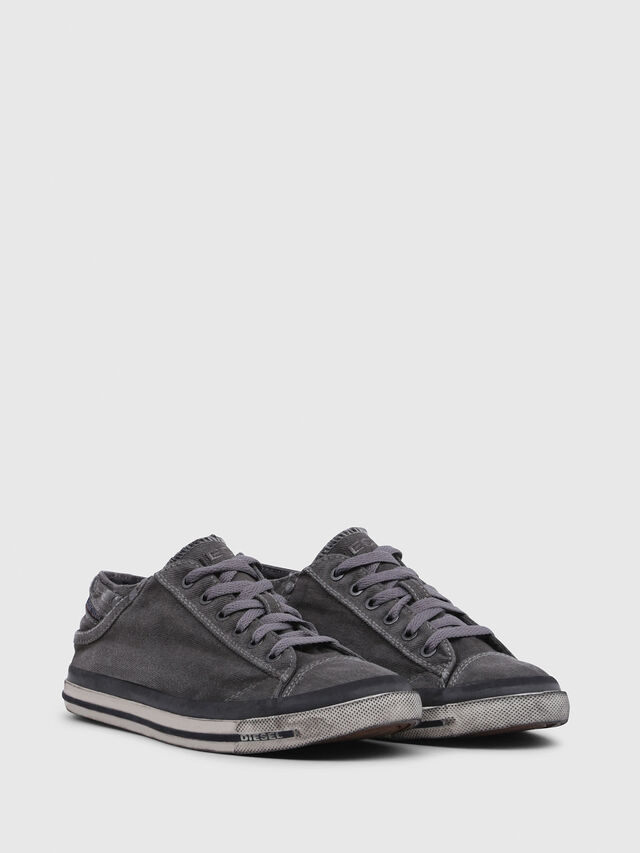 Diesel - EXPOSURE IV LOW  W, Metal Grey - Sneakers - Image 2