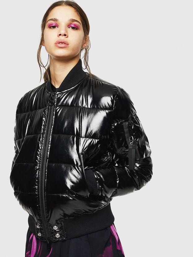 W-ONY, Black - Winter Jackets